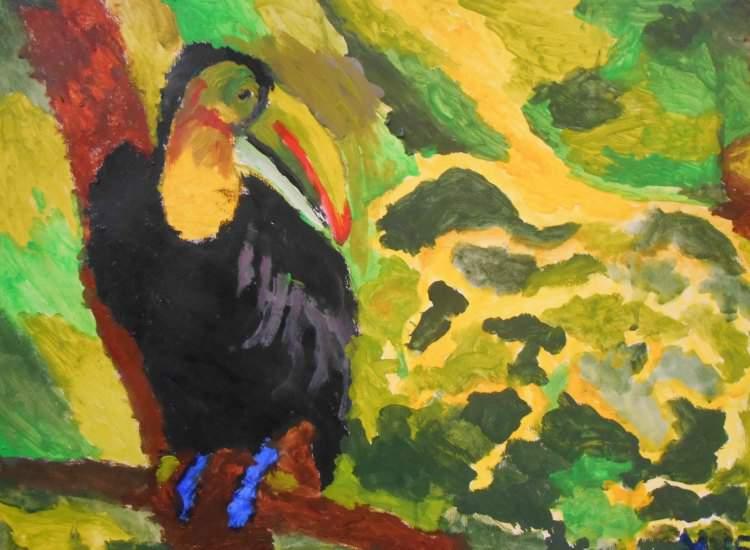 Schilderij van Martha