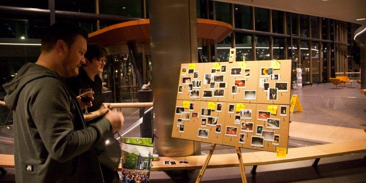 Foto's van de expositie door Marieke Breed