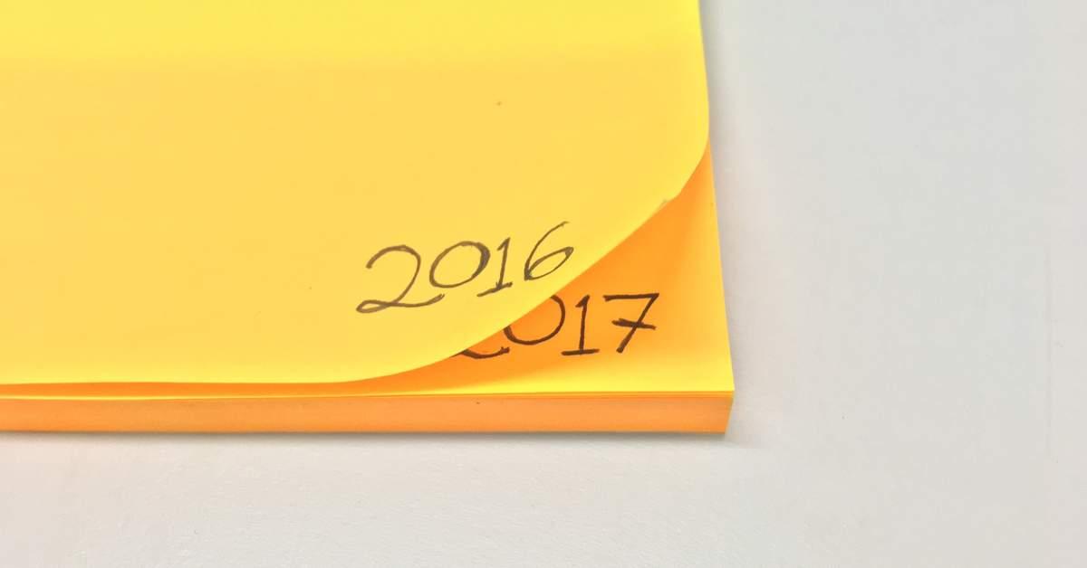 Goede voornemens voor het nieuwe jaar facebook