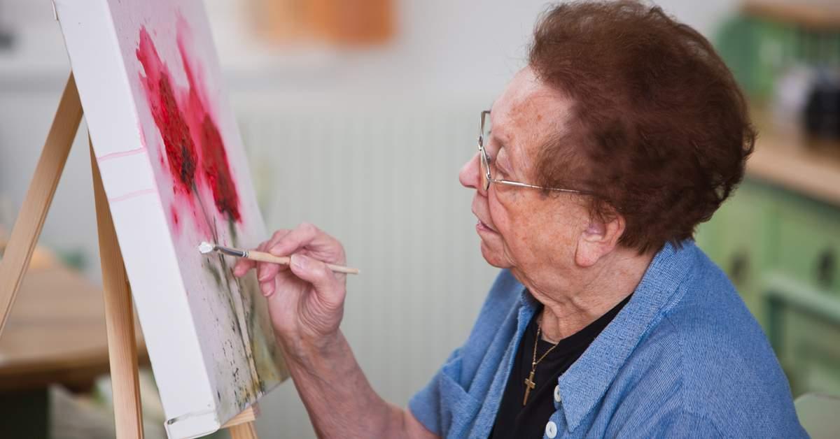 Ouderen helpen door middel van kunst facebook