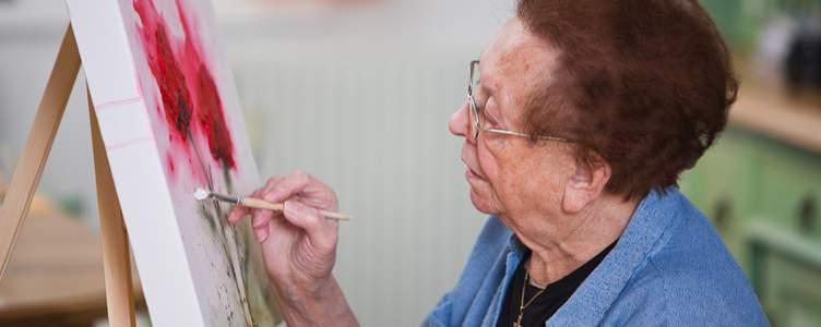 Ouderen helpen door middel van kunst