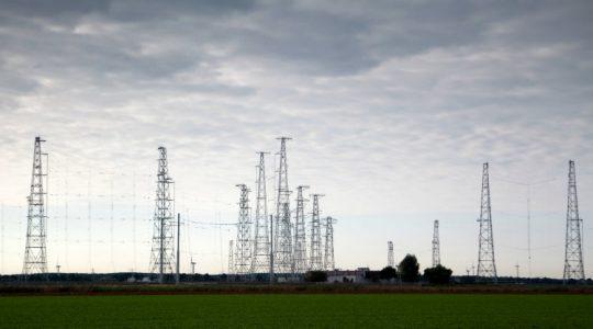 Elektriciteitsmasten Flevoland