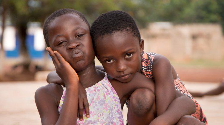 Kinderen in Ghana door Alice Bunt