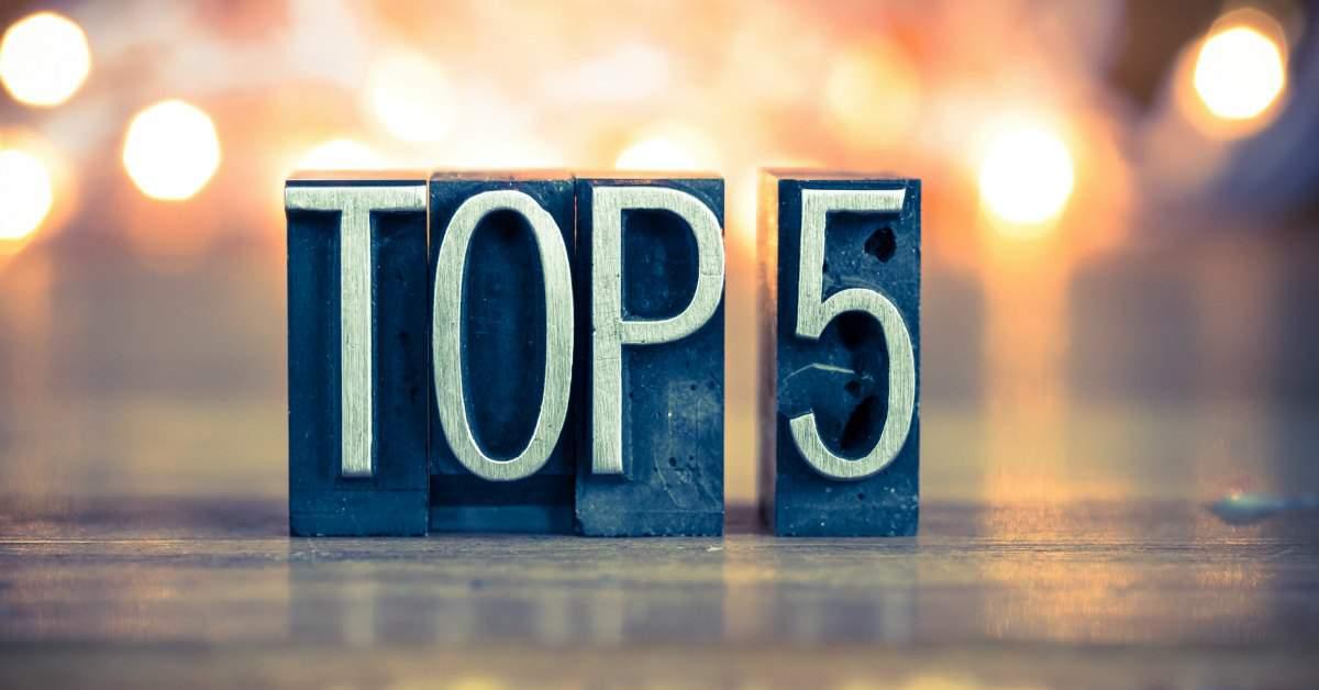 Top 5 best gelezen artikelen facebook