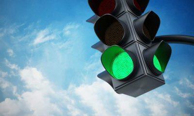 Stoplicht op groen