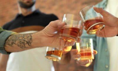 Een whisky avond met vrienden