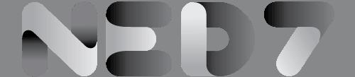 Ned7 logo zwart